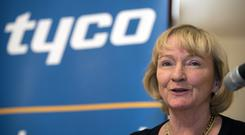 Cathie Bennett, VP Global Public Affairs, Tyco International in Cork at the announcement of 500 jobs. Picture: Michael Mac Sweeney/Provision