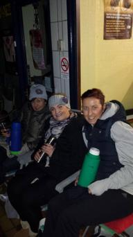 (left) Sonia Rice, (centre) Mairead O Hara and Janina Lieghio (right)
