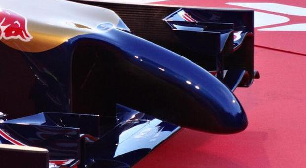 The new Toro Rosso nosecone was compared to a sex toy by Ann Summers