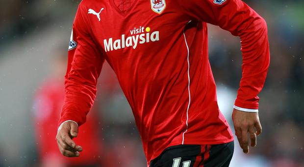 Kenwyne Jones has completed a move from Stoke to Cardiff with Peter Odemwingie moving from Cardiff to Stoke as part of the deal, Cardiff have confirmed on their Twitter feed.