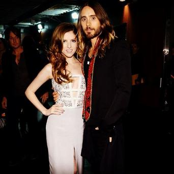 Jared Leto was quick to grab a snap with 'Pitch Perfect' star Anna Kendrick. (Instagram/ Jared Leto)