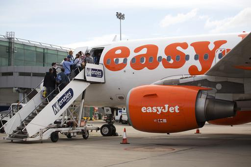 EasyJet has been forced to cancel some flights due to the strike