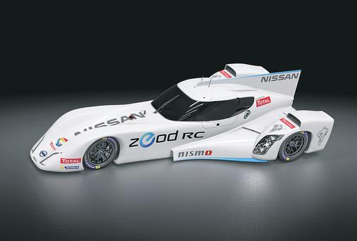 Nissan's electric ZEOD RC car