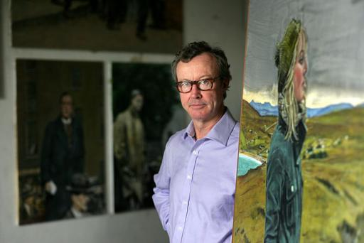 Passionate cyclist and artist Mick O'Dea lost his spleen as a result of a collision with a pedestrian a few weeks ago.