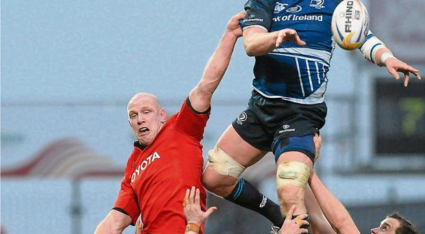Provincial gains: Leinster and Munster, in particular, have done wonders to champion the strength of Irish club rugby