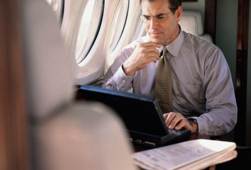This looks set to be the year when Aer Lingus and Ryanair relax rules banning the use of electronics during takeoff and landing.