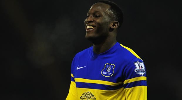 Everton forward Romelu Lukaku