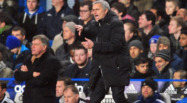 It was a frustrating night for Mourinho