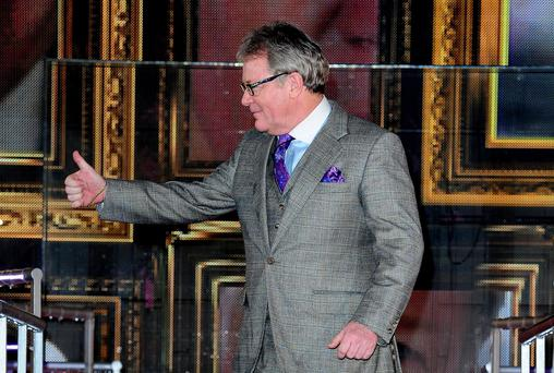Jim Davidson wins Celebrity Big Brother at Elstree Studios Borehamwood. PRESS ASSOCIATION Photo. Picture date: Wednesday January 29, 2014. See PA story SHOWBIZ Brother. Photo credit should read: Ian West/PA Wire
