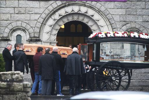 The Mickey Devoy Funeral at Finglas