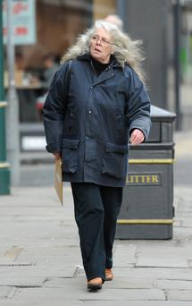 Pauline Wallace as she arrives at York Magistrates Court where she has been banned from keeping reptiles for a year and given a 12-month community order with supervision after she kept almost 200 snakes in her semi-detached house. Anna Gowthorpe/PA Wire