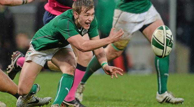 Jack Cullen is one of six Munster players selected for the Ireland U-20 Six Nations squad