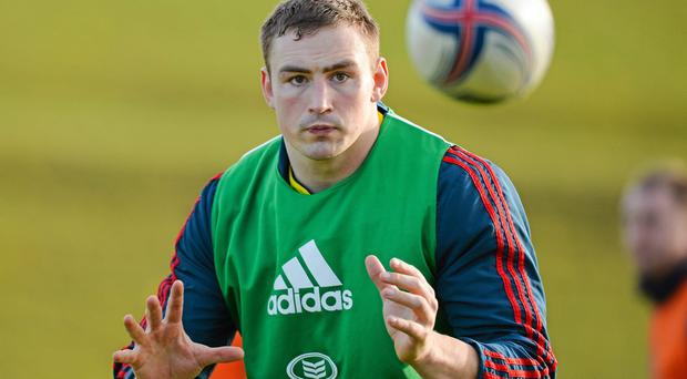 Tommy O'Donnell will be hoping to get his chance for Ireland at No 7 against Scotland