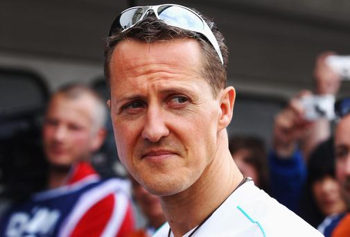 Michael Schumacher. Getty Images