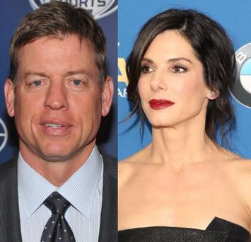 The 49-year-old actress briefly dated former Dallas Cowboys quarterback Troy Aikman in 1995.