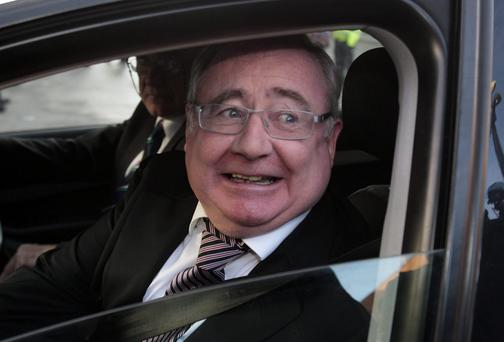 Pat Rabbitte,TD,the Minister for Communications