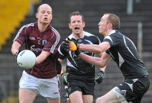 Galway's James Kavanagh in action during their recent game against Sligo