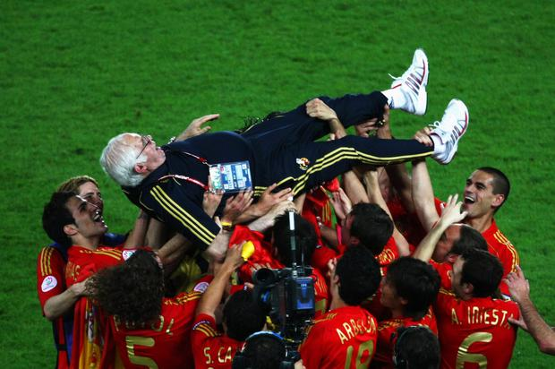 Former Spain national team manager Luis Aragones has died, aged 75 on February 01