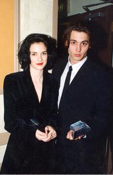 Johnny Depp and Winona Ryder enjoyed a three year relationship in 1990