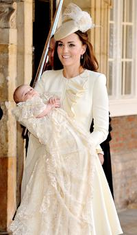 Kate Middleton and son Prince George