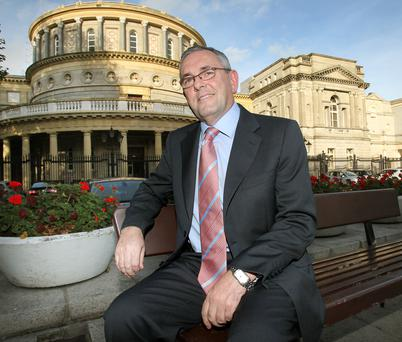 ON THE SIDE OF THE ANGELS: John McGuinness, chairman of the Public Accounts Committee. Photo: Tony Gavin