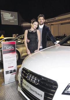 Louise Duffy and Paul Galvin