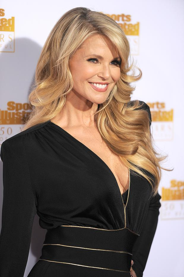 Model Christie Brinkley attends NBC and Time Inc. celebrate the 50th anniversary of the Sports Illustrated Swimsuit Issue