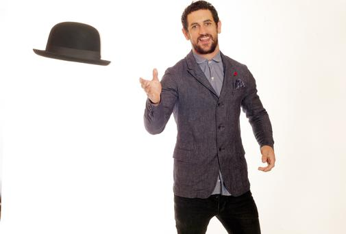 Paul Galvin is a dedicated follower of fashion. Picture: Ronan Lang