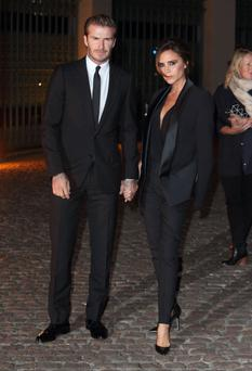 Victoria Beckham and David Beckham have their eye on Matt Damon's Miami mansion (Photo by Mike Marsland/WireImage)