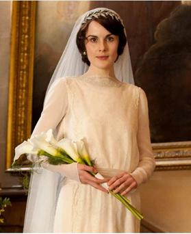 Do you have a spare €151,000? You could rent Lady Mary's tiara for your wedding day... (Photo: ITV)