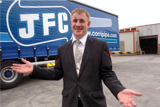 John Concannon, owner of JFC in Tuam, Co Galway. Picture Ray Ryan