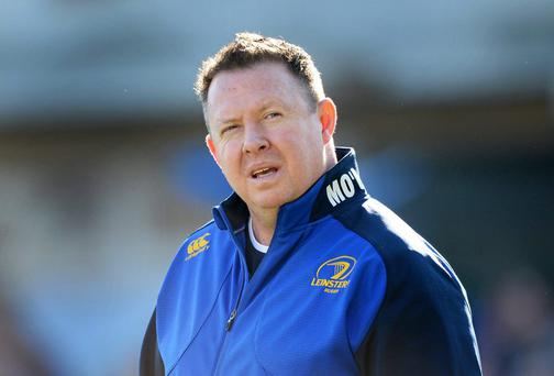 Leinster head coach Matt O'Connor