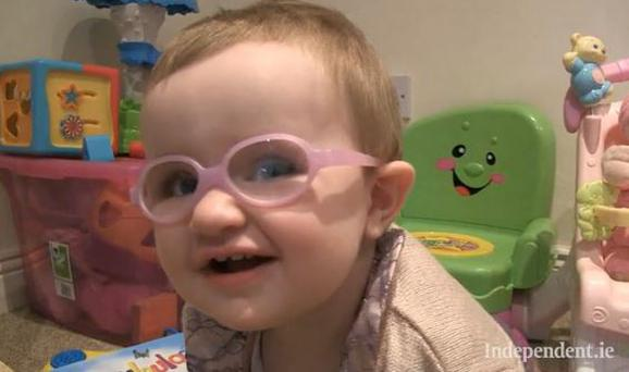 """She always has a smile on her face. In all she's been through in her little life she's never done it without a smile on her face,"" her mum Tammy told Independent.ie."