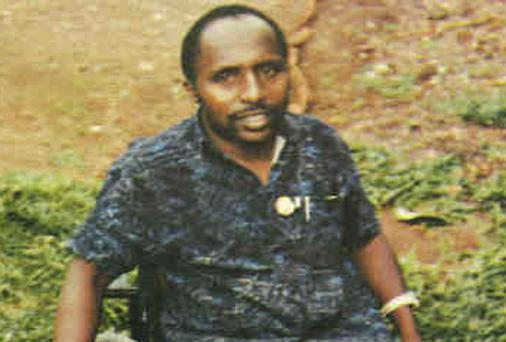 This undated photo provided by Interpol Tuesday, Feb. 4, 2014 shows Pascal Simbikangwa, 54, Rwanda's former intelligence chief