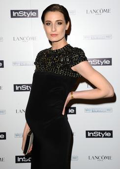 Erin O'Connor attends InStyle magazine's The Best of British Talent pre-BAFTA party at Dartmouth House on February 4, 2014 in London, England. (Photo by Anthony Harvey/Getty Images)