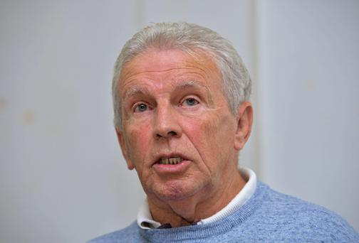 Leeds United legend John Giles