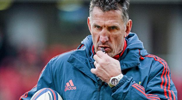 Munster head coach Rob Penney is leaving at the end of the current season