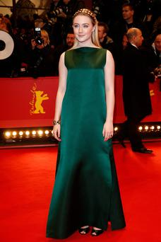 Saoirse Ronan attends 'The Grand Budapest Hotel' Premiere and opening ceremony during the 64th Berlinale International Film Festival at Berlinale Palast on February 6, 2014 in Berlin, Germany. (Photo by Andreas Rentz/Getty Images)