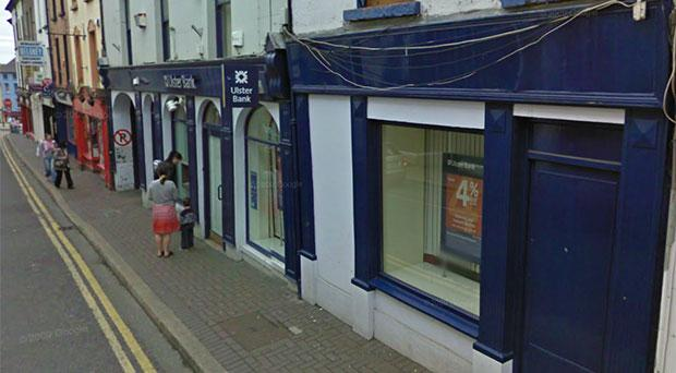 The Ulster Bank in Enniscorthy. Photo: Google Street View