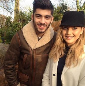 The 20-year-old and boyfriend of two years Zayn Malik are set to wed later this year. (Instagram/Perrie Edwards)