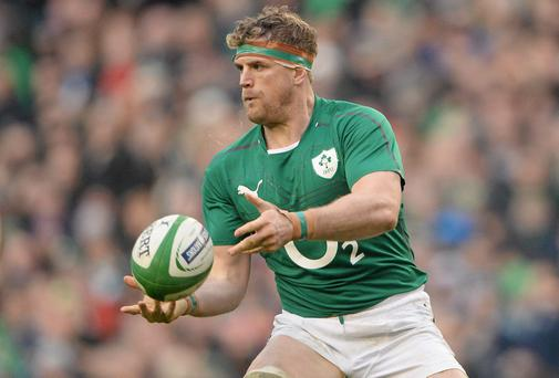 Jamie Heaslip of Ireland
