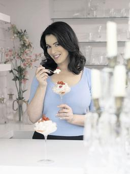 Nigella Lawson, whose cookery programmes we view more than we emulate
