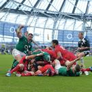 Ireland are the second heaviest team in the Six Nations