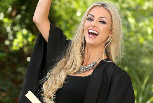 Rosanna Davison pictured in Griffith College