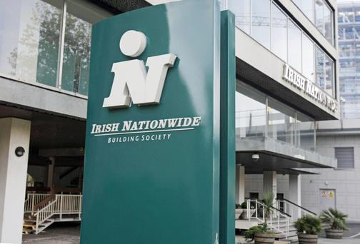 General view of the former Irish Nationwide headquarters in Dublin.