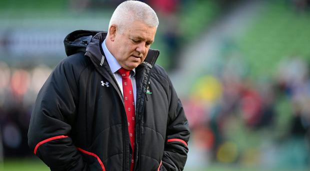 Wales head coach Warren Gatland before the Six Nations game against Ireland