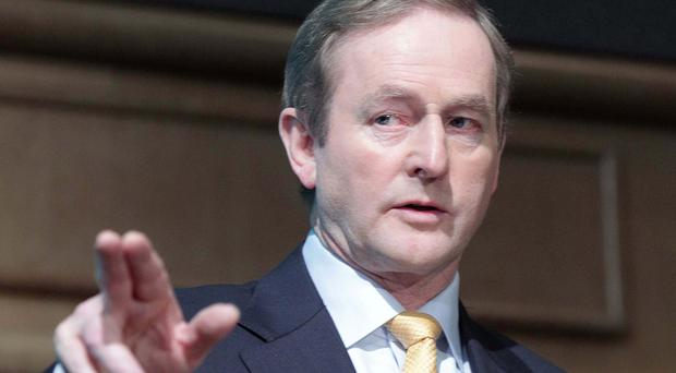 Boss man: Enda Kenny . Photo: Collins