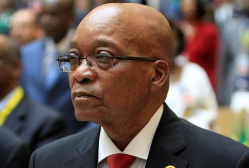 South African President Jacob Zuma. Reuters