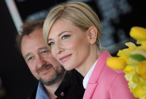 Cate Blanchett with husband Andrew Upton