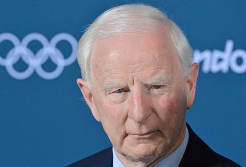 Pat Hickey, President of the Olympic Council of Ireland